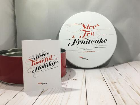 Holiday Tin and Card