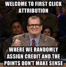 Drew Carey First Click Attribution