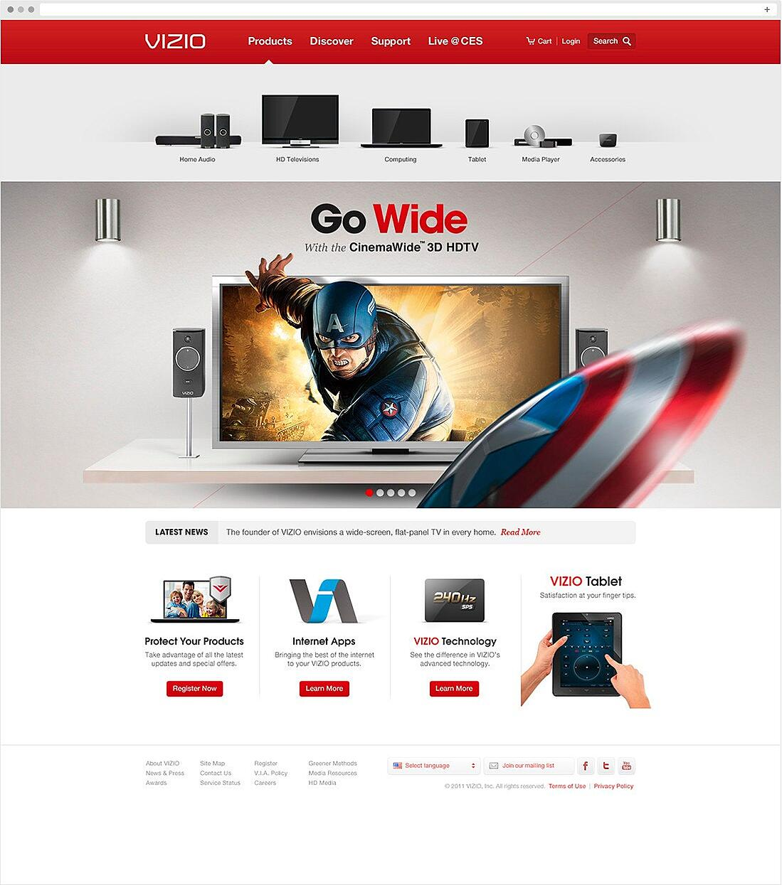 VIZIO Consumer Electronics Case Study   AMP