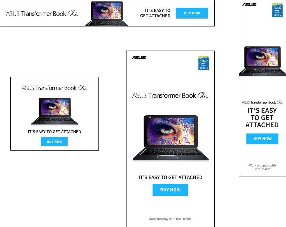 ASUS Banner Campaign