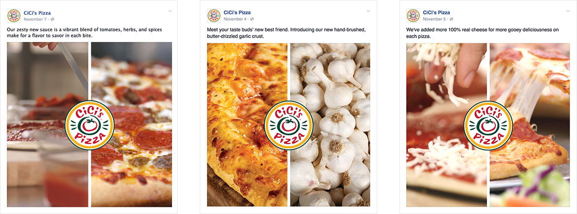 Cicis Social Media Creative