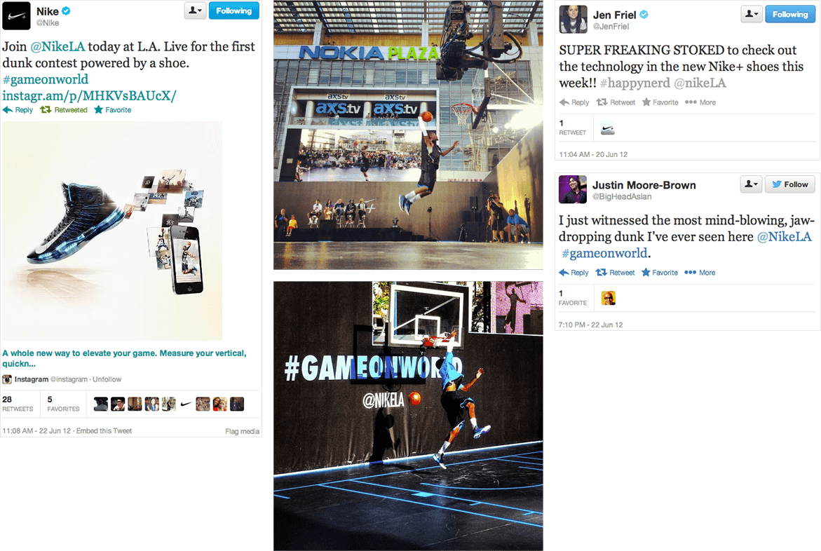 Nike LA #GAMEONWORLD 1st Dunk Contest